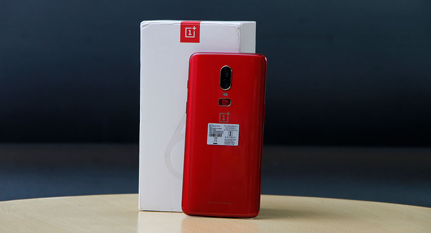 Quick Look: OnePlus 6 Red Edition