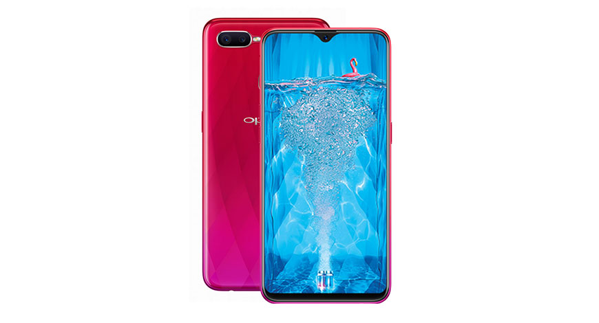 Oppo F9 Pro With V shaped Notch Display Launched In India Gets a