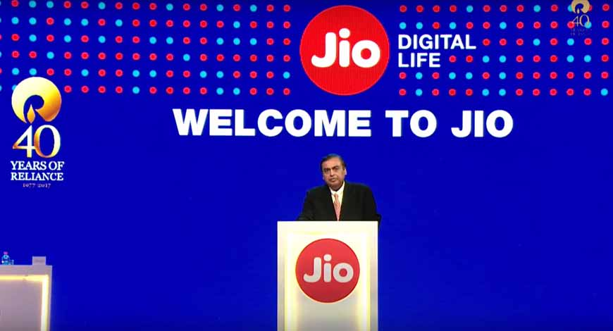 Mukesh Ambani Jio Launch