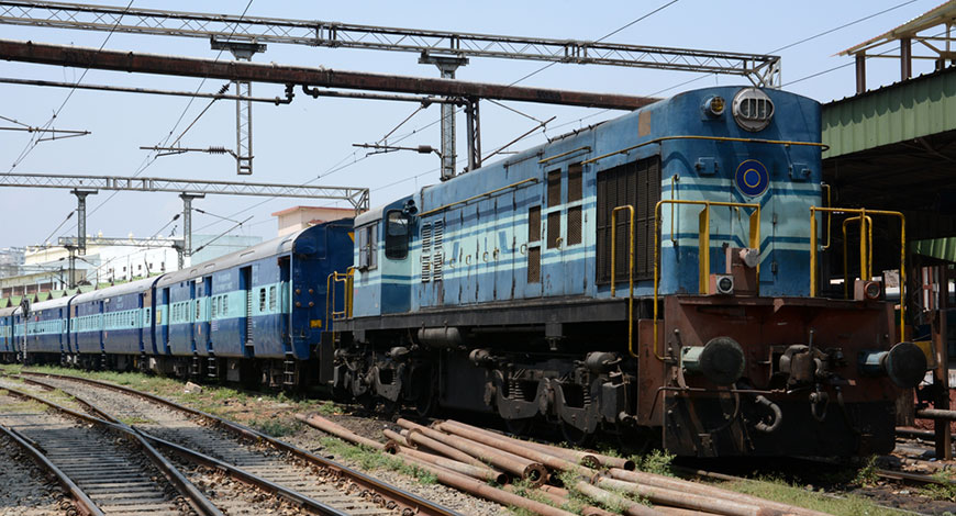 1st Export Train Flagged Off By Ahmedabad Division Of
