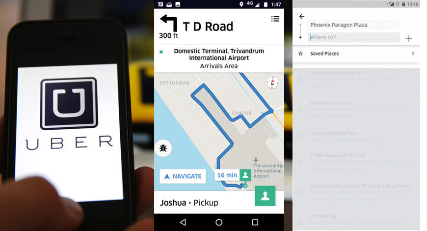 Uber Introduces In app Chat Multi destination Features In India - BW