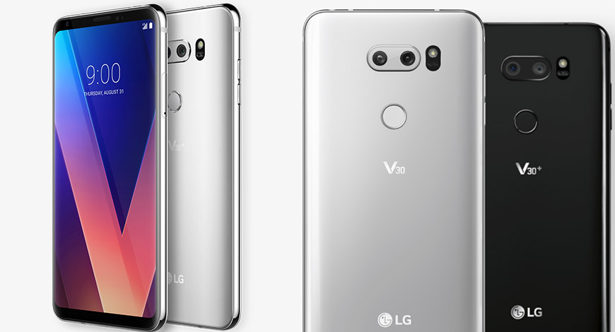 LG V30 With Snapdragon 835 And FullVison Display Launched In