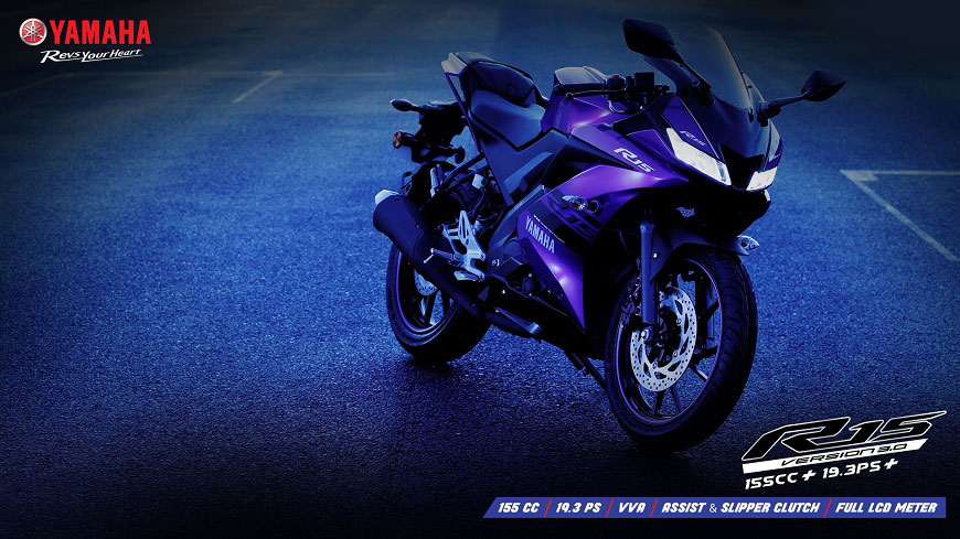 Yamaha Yzf R15 V3 Price Of Accessories Racing Kit Revealed By India