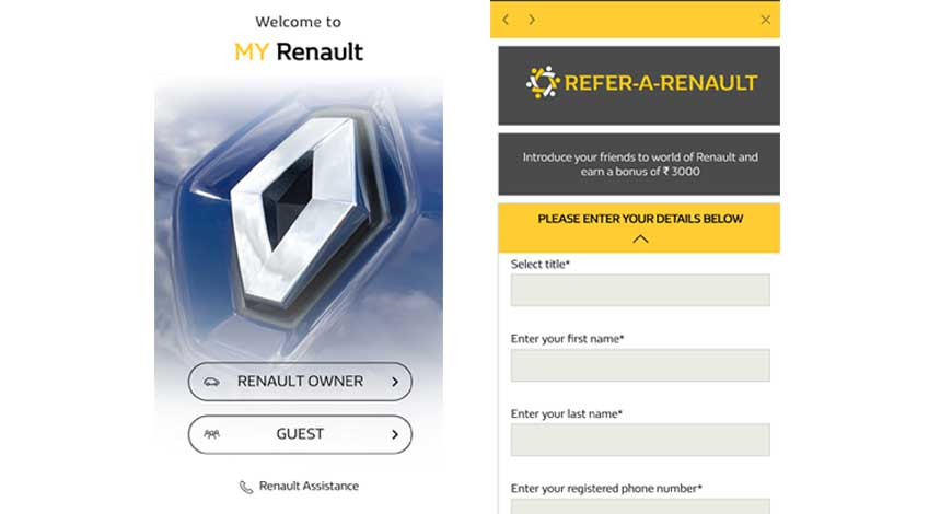 now book your renault through my renault app bw businessworld. Black Bedroom Furniture Sets. Home Design Ideas