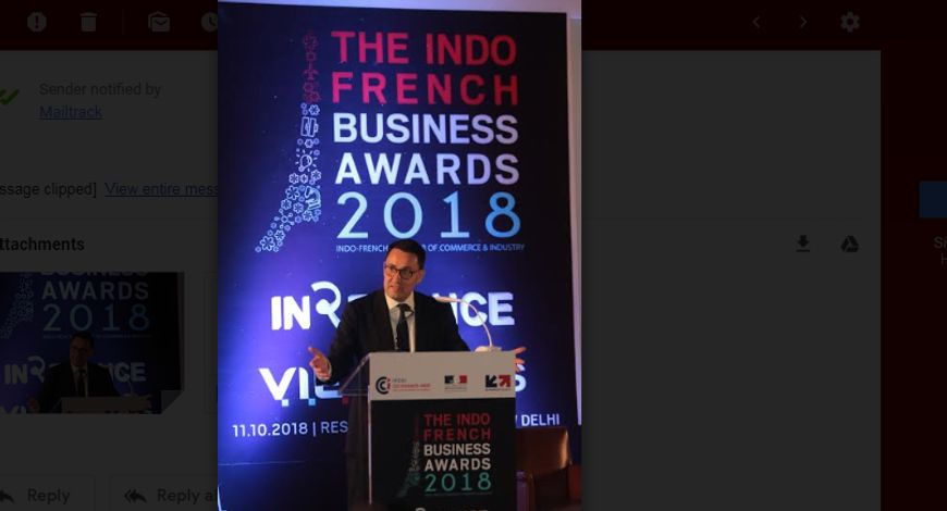 French embassy hosts first edition of Indo-French Business Awards and IN2FRANCE summit