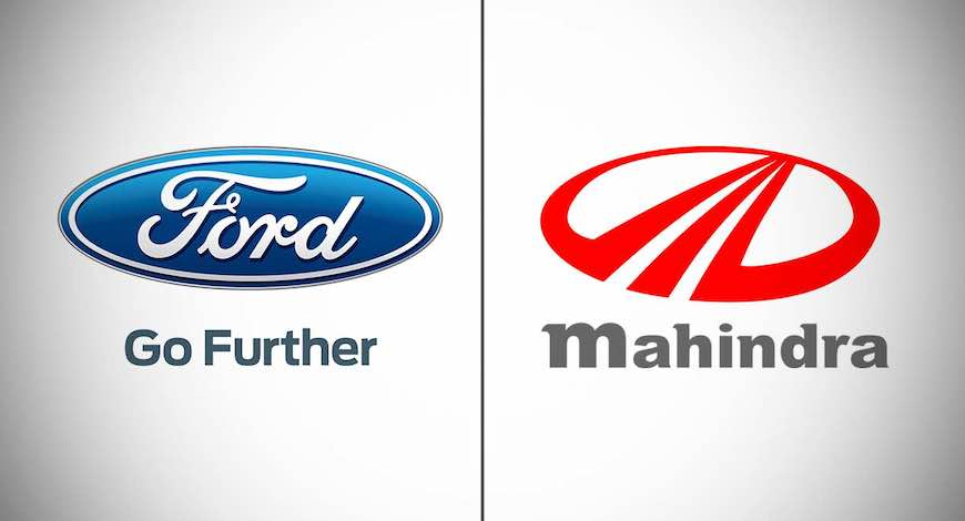 Mahindra And Ford To Share Powertrain And Co Develop Connected Car