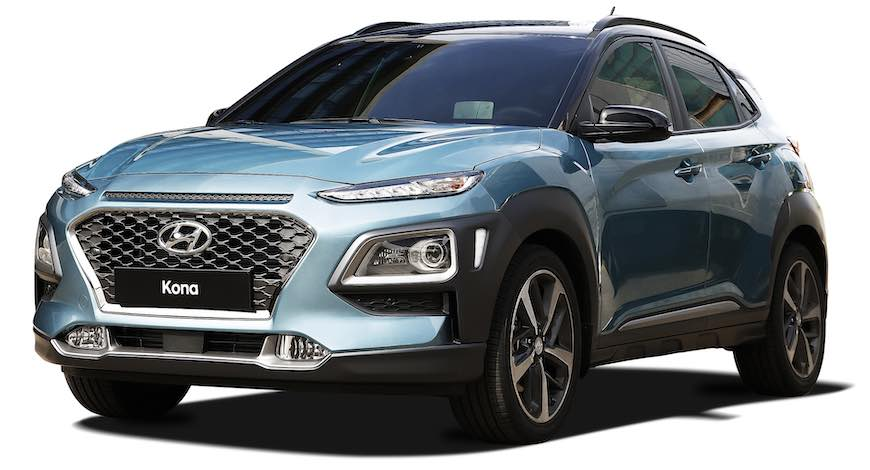 hyundai kona and kona electric cuv is the 2019 north american utility vehicle of the year bw. Black Bedroom Furniture Sets. Home Design Ideas