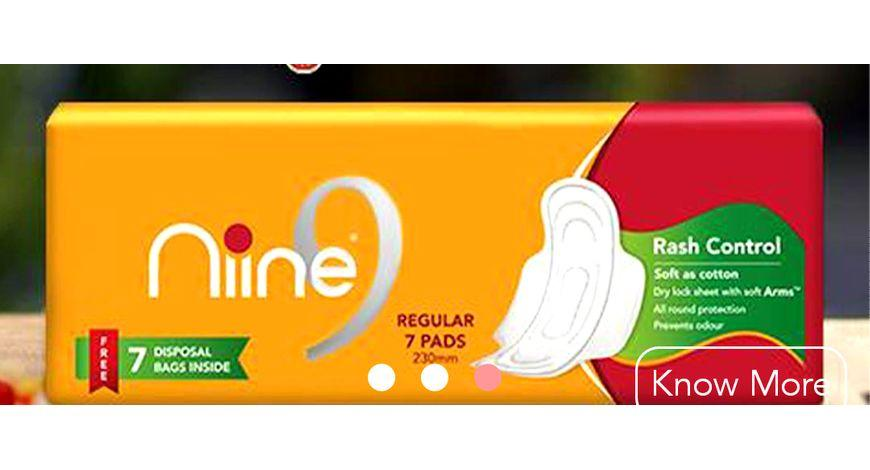Niine Becomes First Sanitary Napkin Brand In India To Launch