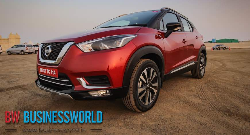 Nissan Launches The New Kicks In India Bw Businessworld