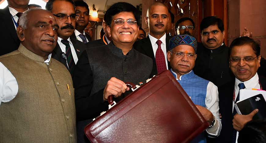 Union Budget 2019: Minute By Minute Live Updates Of Piyush Goyal's Interim Budget