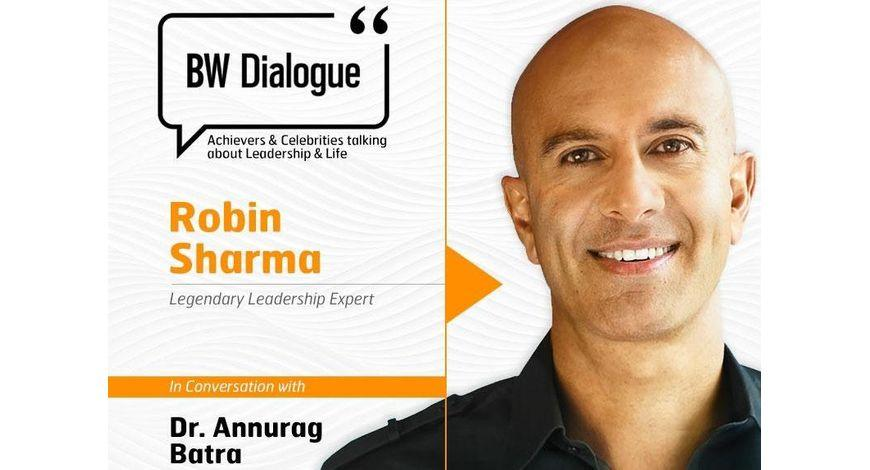 BW Businessworld Dialogue with Legendary Leadership Expert Robin Sharma To Be Held on 13th Feb in New Delhi