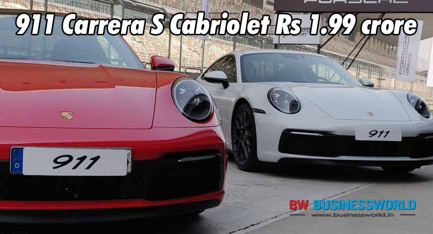 New Porsche 911 Launched In India Price Rs 1 82 Cr Bw Businessworld