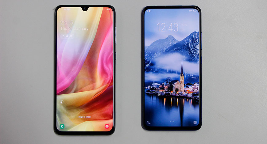 Vivo V15 Pro Vs Samsung A70 Which One Is Better - BW