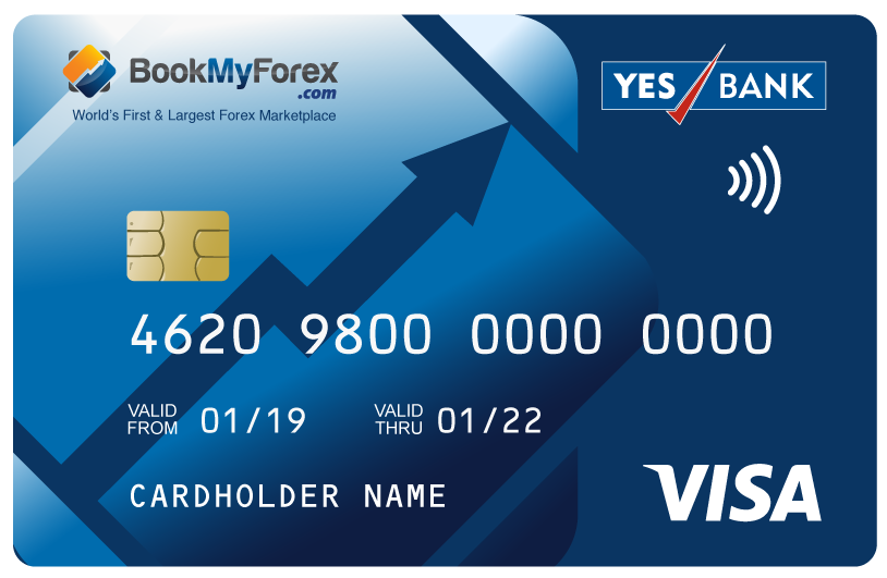 Yes bank forex card